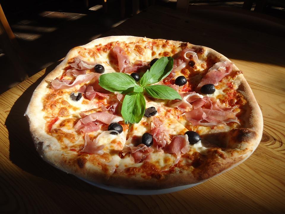 Pizza Grill Proscuitto